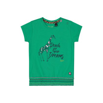 T-shirt Bibe jungle green