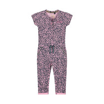 jumpsuit Bess light pink leopard