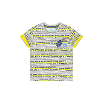 T-shirt Berk empire yellow stripe