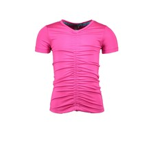 B.Nosy T-shirt with cord at front panel pink glo
