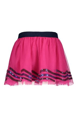 B.Nosy rok netting with sequince detail at hem pink glo