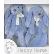 Giftbox deep blu rabbit Richie