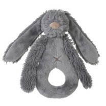 deep grey rabbit Richie rattle