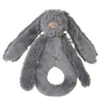 deep grey rabbit Richie rattle