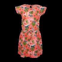 jurk Olif coral