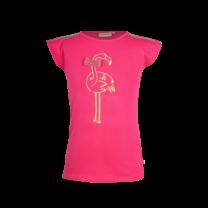 T-shirt wavy bright pink