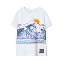 T-shirt Fagiolo bright white
