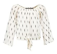 Frankie & Liberty blouse Nova off white/ lightning print