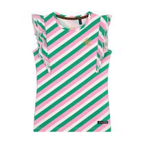 T-shirt Anita light pink diagonaal