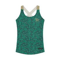 singlet Amielle jungle green leopard