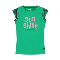 T-shirt Amber jungle green