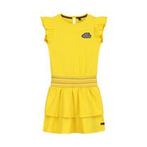 jurk Amanda banana yellow