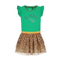 jurk Abriana jungle green