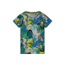 T-shirt Abdel emerald jungle
