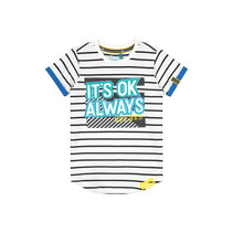 T-shirt Abbe white stripe