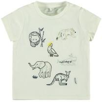 T-shirt Febos snow white
