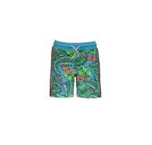 B.Nosy short with jungle aop tiger jungle
