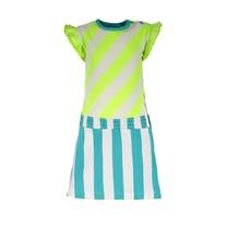 jurk YDS 2-colors safety stripe
