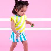 B.Nosy jurk YDS 2-colors safety stripe