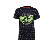 T-shirt aop summervibes navy