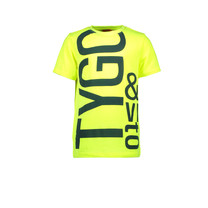 T-shirt logo neon safety yellow