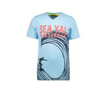 T-shirt sea ya light blue
