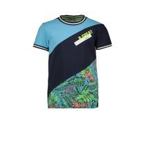 T-shirt with jungle aop tiger jungle