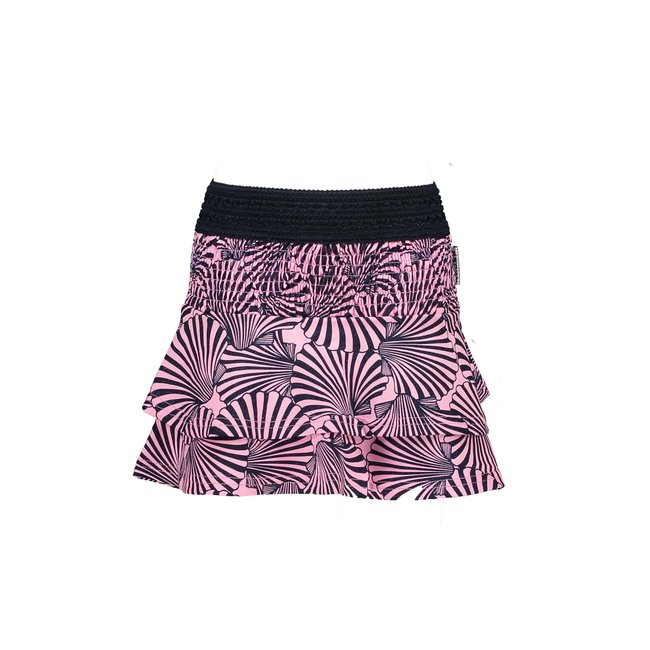 B.Nosy rok shell ao with smocked part and 2 layers sorbet pink shell aop