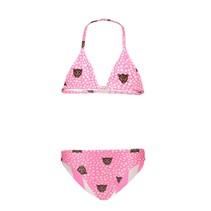 bikini triangle reversible tiger dots