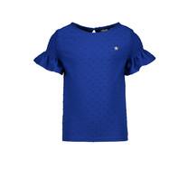T-shirt viscose dot cobalt