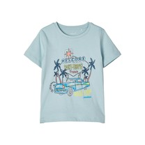 T-shirt Facay sterling blue