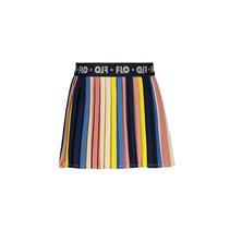 rok multi stripe plisse