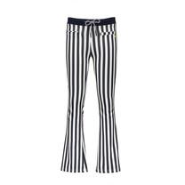 broek Sahara striped flared navy blazer