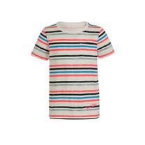T-shirt Finno neon coral