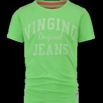 T-shirt Hawali neon green