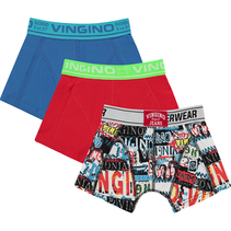 boxer 3-pack classic red