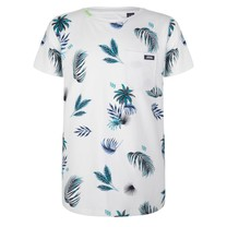 T-shirt palm print white
