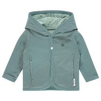 vestje Haye grey mint