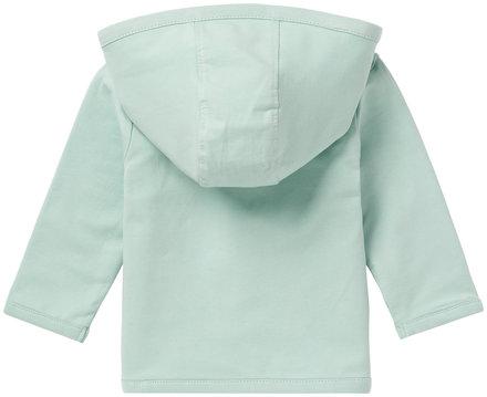 Noppies vestje Nusco grey mint