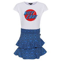 jurk nice cool blu