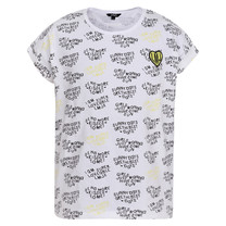 T-shirt heart white