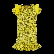 jurk Jolien lovely lemon/leopard