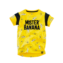 T-shirt Finn lazy lemon/ aop