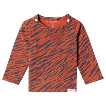 longsleeve Yasumi aop spicy ginger