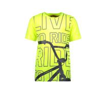 T-shirt BMX safety yellow