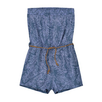 jumpsuit Ahilya dark blue feather
