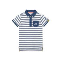 polo Alwin blue white stripe