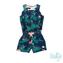 jumpsuit marine - Botanic blush