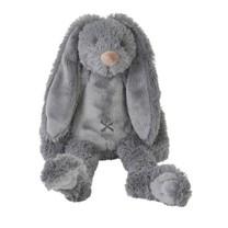 deep grey rabbit richie 38cm