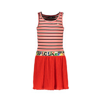 jurk singlet with fancy skirt zigzag
